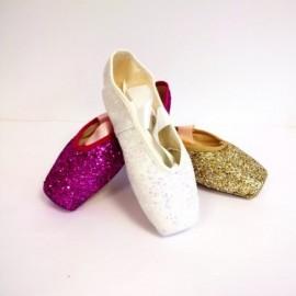 chaussons de danse pointes MERLET GLITTER