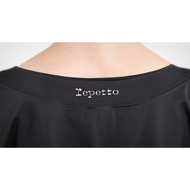 top REPETTO manches 3/4 noir