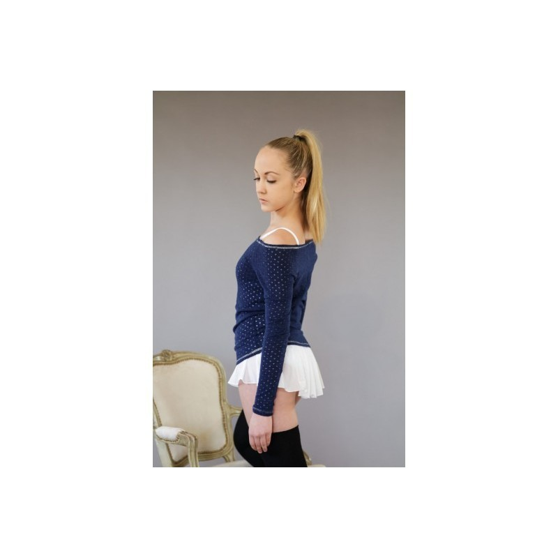 pull ARTILIGNE SPOTTY manches longues