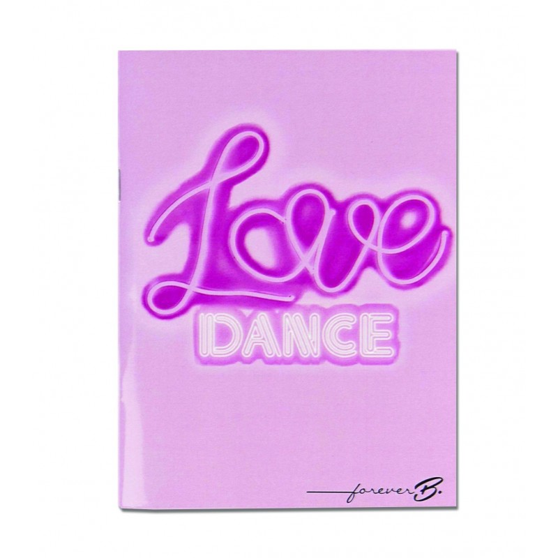 carnet de note A6 FOREVER B Love Dance