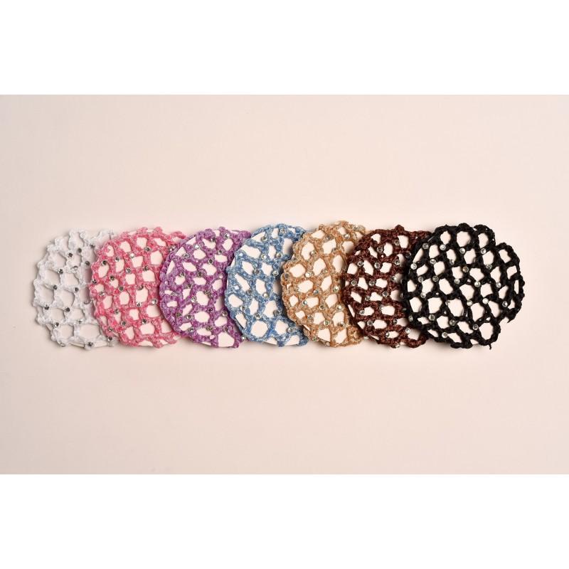 cache-chignon crochet strass DANSEZ-VOUS ? grand modèle