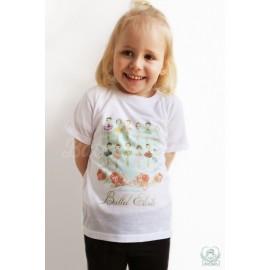 tee-shirt BALLET PAPIER Ballet Etoiles