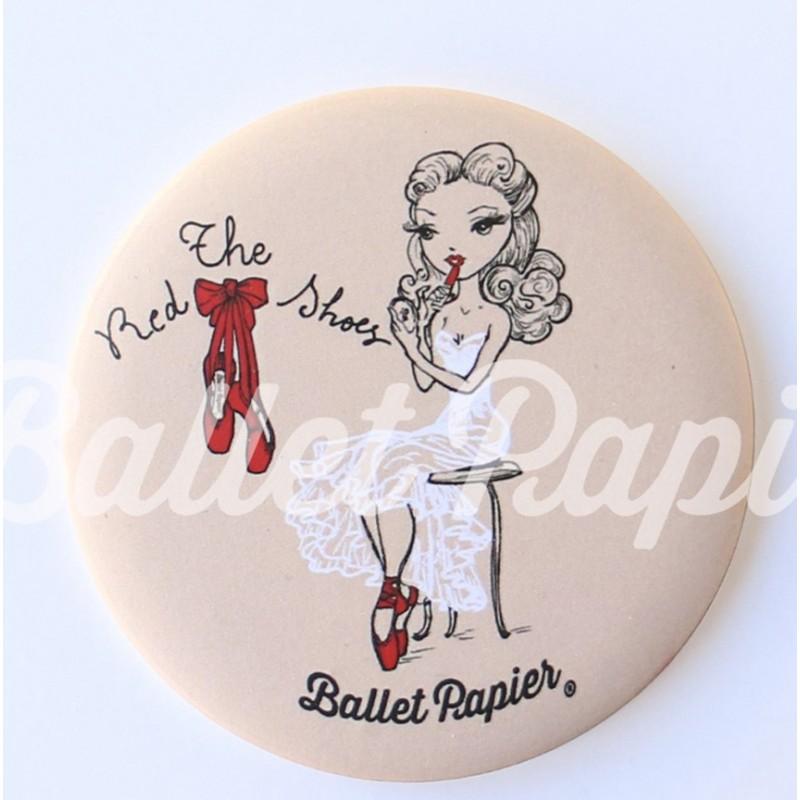 miroir de poche BALLET PAPIER The Red Shoes