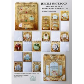 carnet de notes BALLET PAPIER Jewels