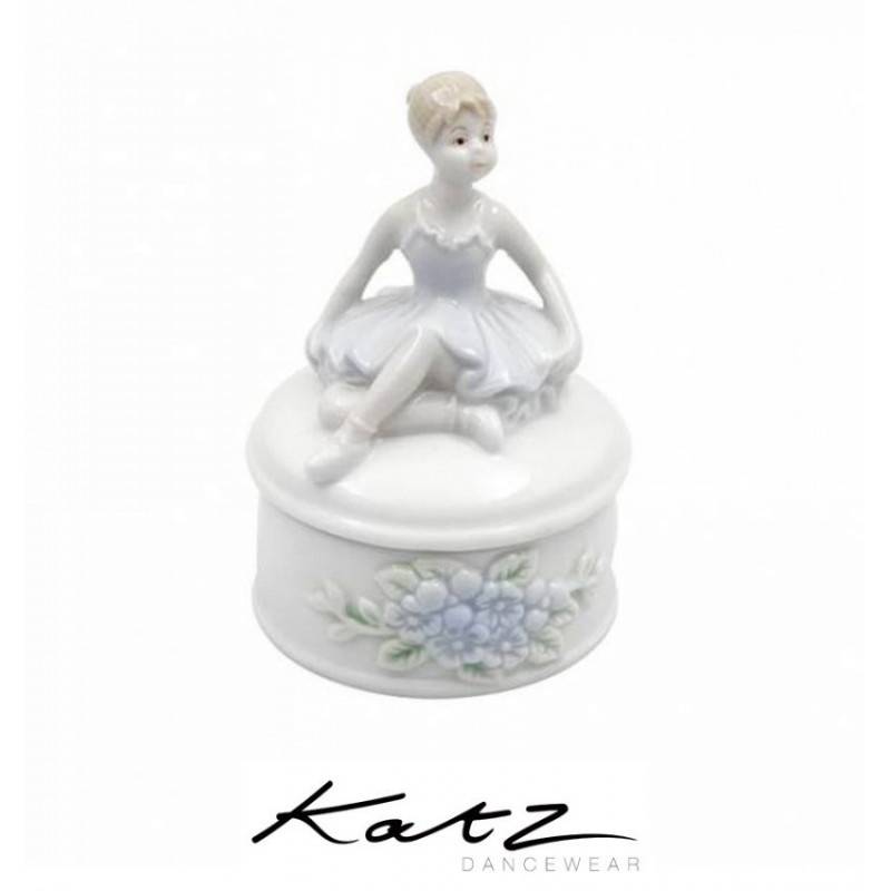 boîte à bijoux KATZ danseuse assise