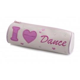 trousse crayons danseuse KATZ I LOVE DANCE enfant