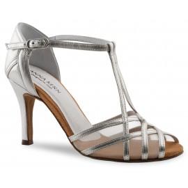 Chaussures de danse de salon WERNER KERN FEMME argent