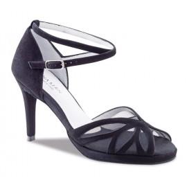 Chaussures de danse de salon WERNER KERN FEMME daim noir