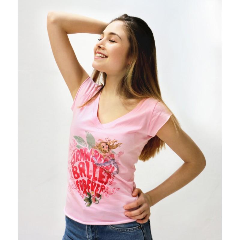 tee-shirt BALLET PAPIER Little Swans