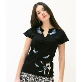 tee-shirt BALLET PAPIER Odette et Odile