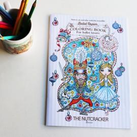 cahier coloriage BALLET PAPIER Casse Noisettes