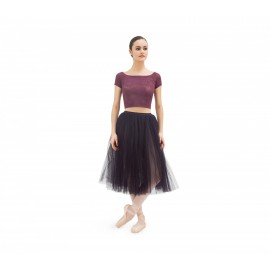 Top court REPETTO dentelle rosace