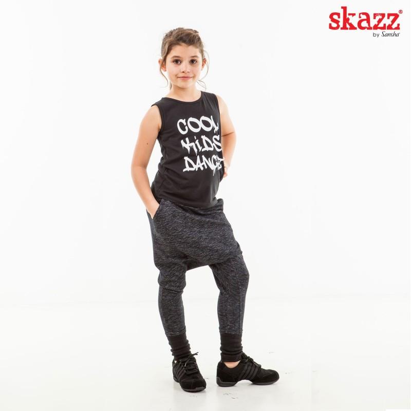 tee-shirt jazz-hip hop SANSHA Skazz Cool Kids Dance enfant
