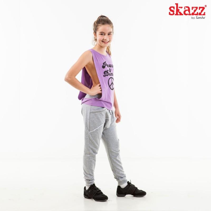 tee-shirt jazz-hip hop SANSHA Skazz Peace & Dance enfant