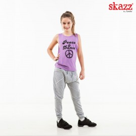 tee-shirt jazz-hip hop SANSHA Skazz Peace & Dance enfant