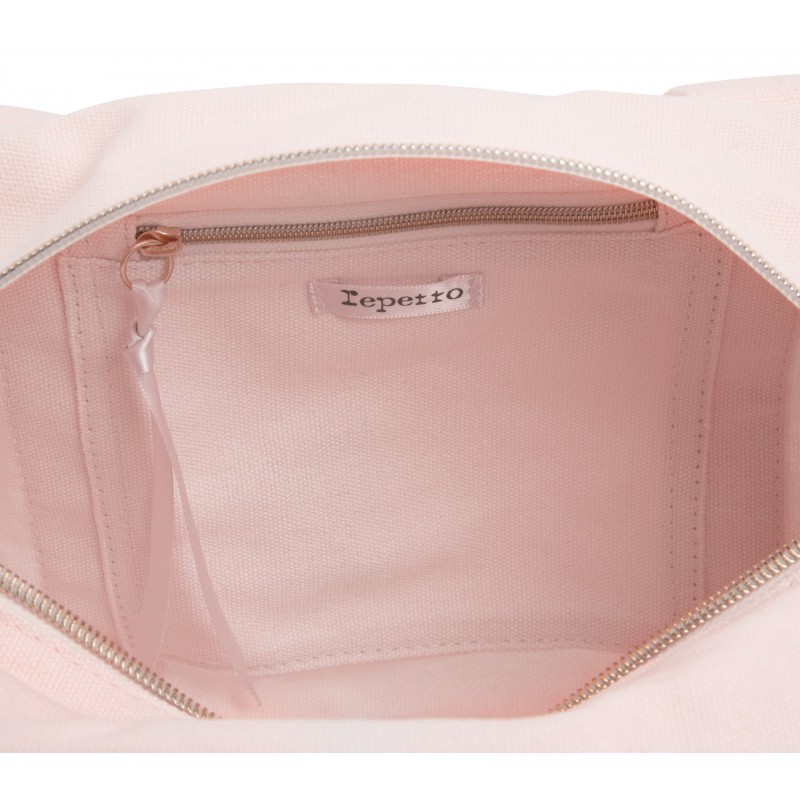 sac de danse REPETTO Polochon Taille S rose tendresse