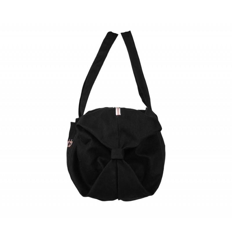 sac de danse REPETTO Polochon Taille L coton noir