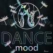 cartes de voeux BALLET PAPIER Dance Mood