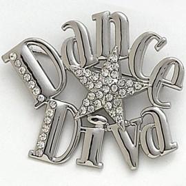 broche DASHA DESIGNS DANCE DIVA
