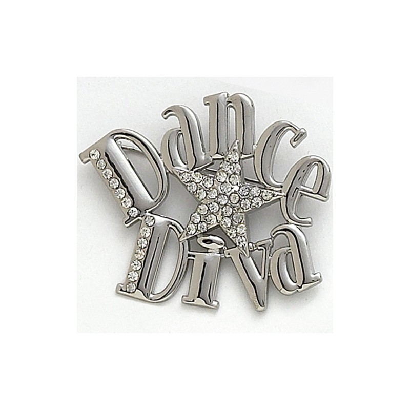 broche DASHA DESIGNS DANCE DIVA