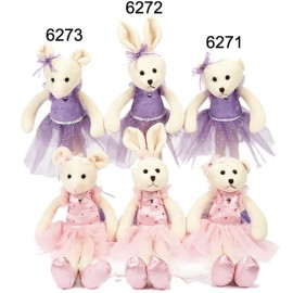 peluche Ourse Ballerine DASHA DESIGNS