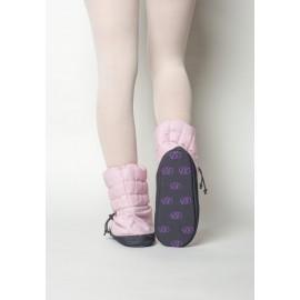Boots d'échauffement danse RUSSIAN POINTE Sparkling Pink
