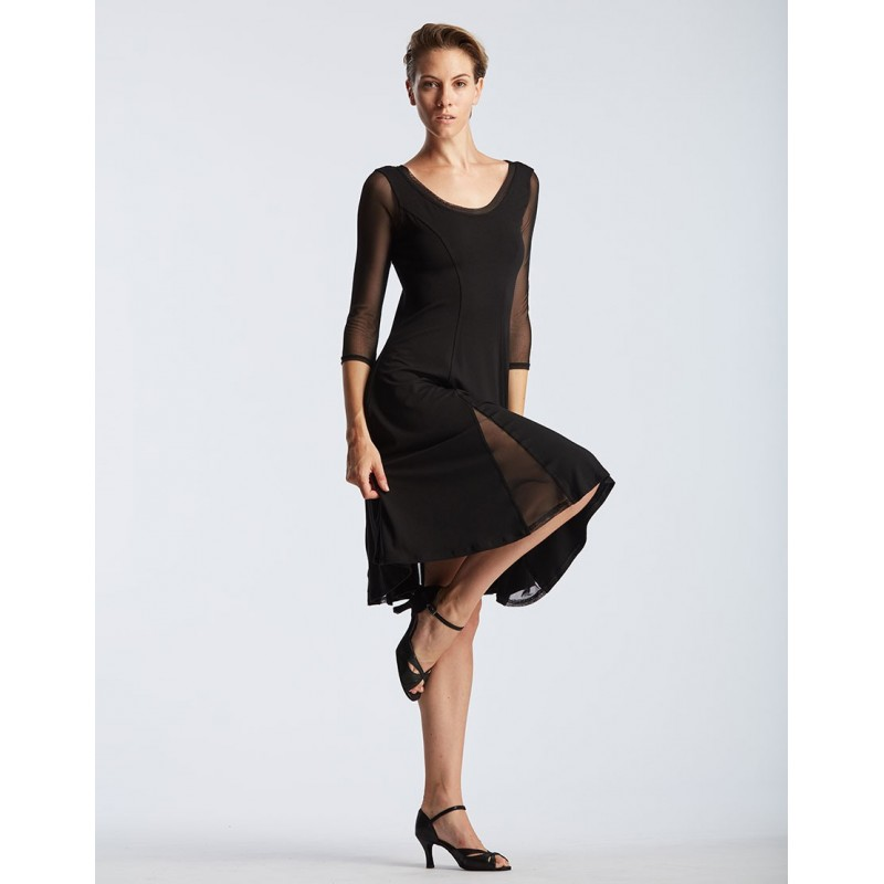 robe manches tulle TEMPS DANSE DELINA