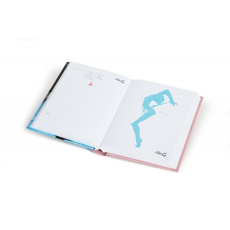 Agenda Scolaire Gymnaste LIKEG LG-DS-79