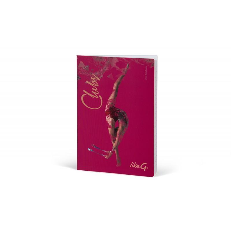 cahier gymnaste A5 LikeG ligné LG-QPR-79