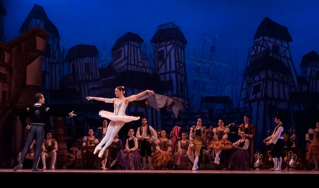 Ballet de danse classique.