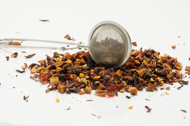 Boule pour infusions de plantes ou de thé.