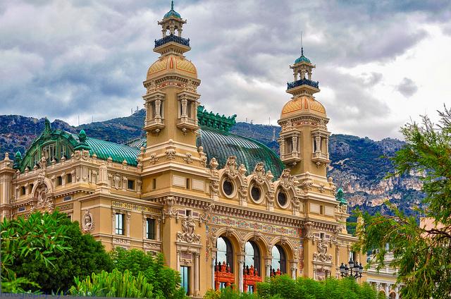 Photographie du Casino de Monte-Carlo.