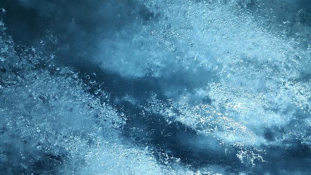 Photographie d'une plaque de glace.