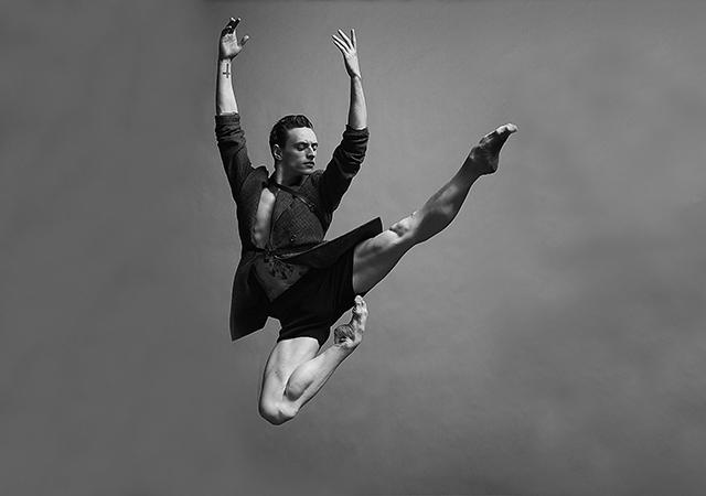 Photographie du danseur étoile Sergei Polunin.