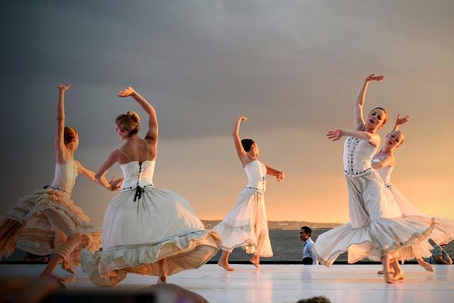 Danseuses en tenue de scène.
