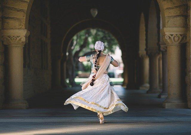 Danseuse indienne.