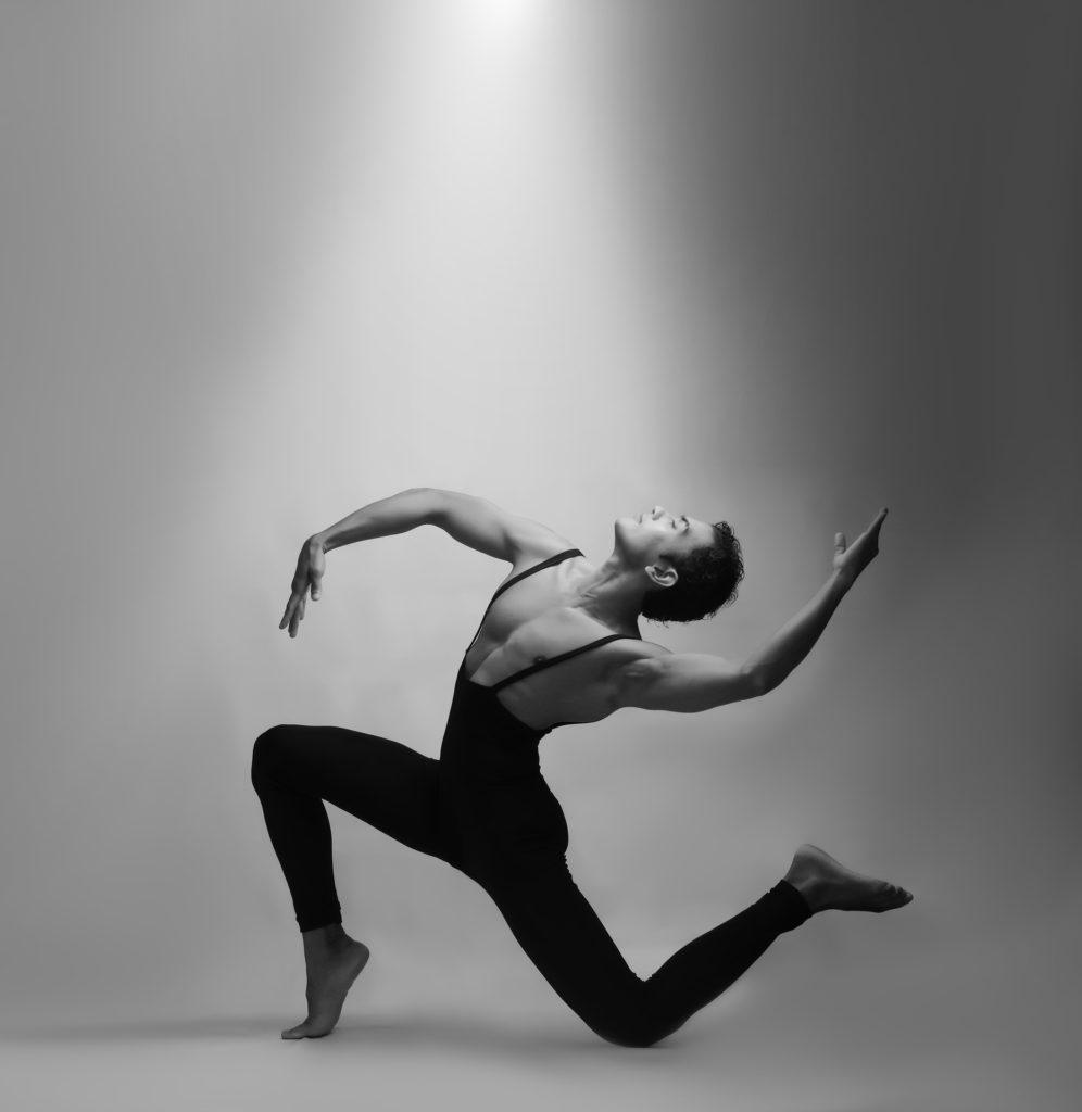 Danseur de ballet en tenue de danse.