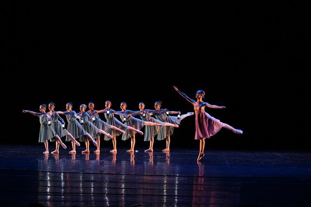Ballet chorégraphié.