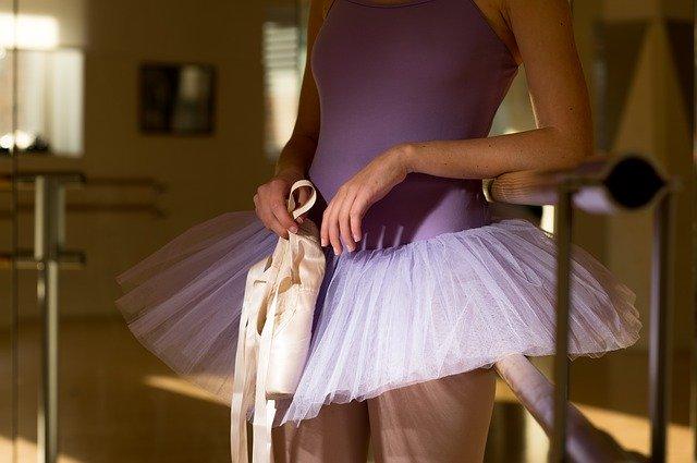 Danseuse classique en tutu.
