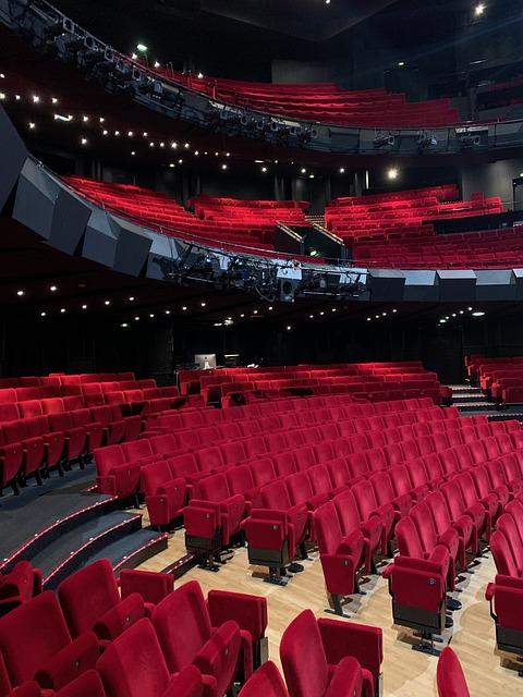 Salle de spectacle vide