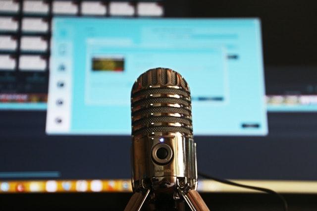 Micro de podcast