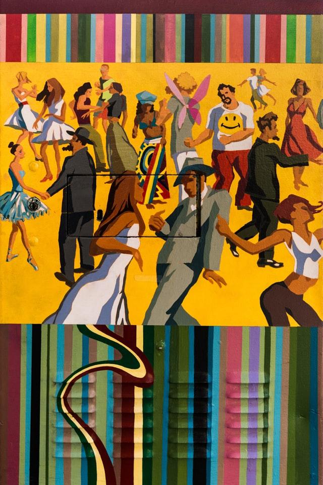 Tableau de danseur de Jazz
