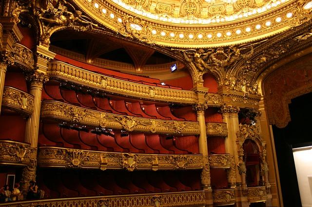 Plan de l'Opéra de Paris