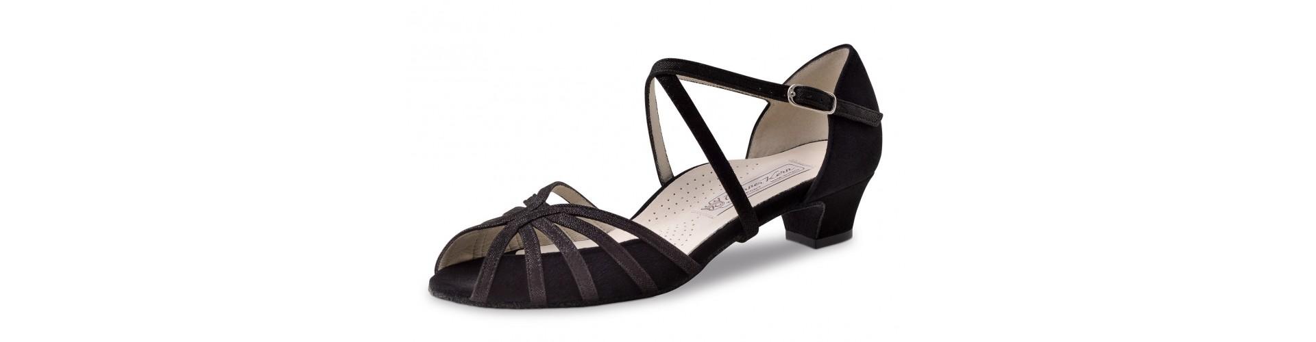 Chaussures danse de salon talon moyen à bas